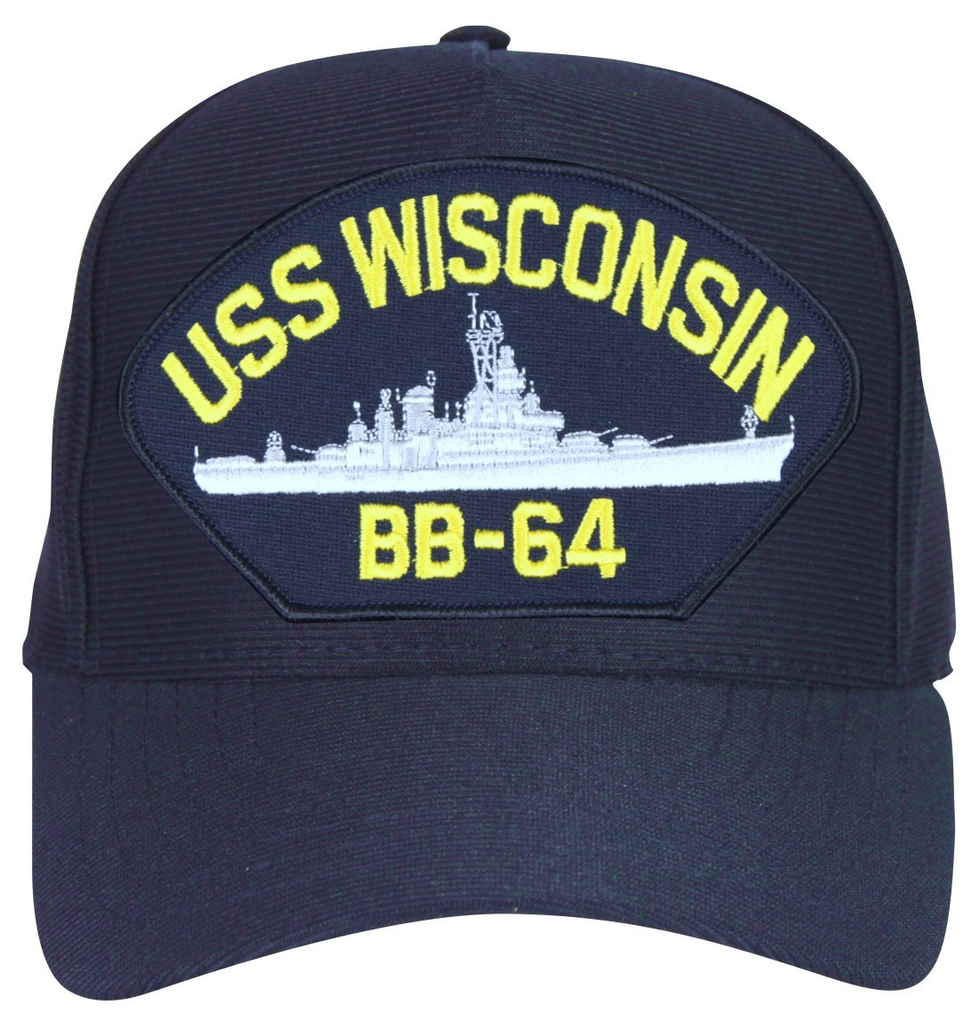 3fe9065af07 Militarybest uss wisconsin ship cap with custom back text sports outdoors  jpg 1102x1140 Official navy ball