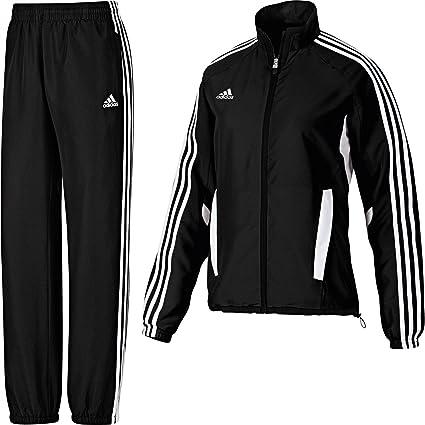 adidas Damen Tiro 11 Trainingsanzug XS Schwarz: Amazon.de ...
