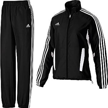 adidas Damen Tiro 11 Trainingsanzug XS Schwarz: