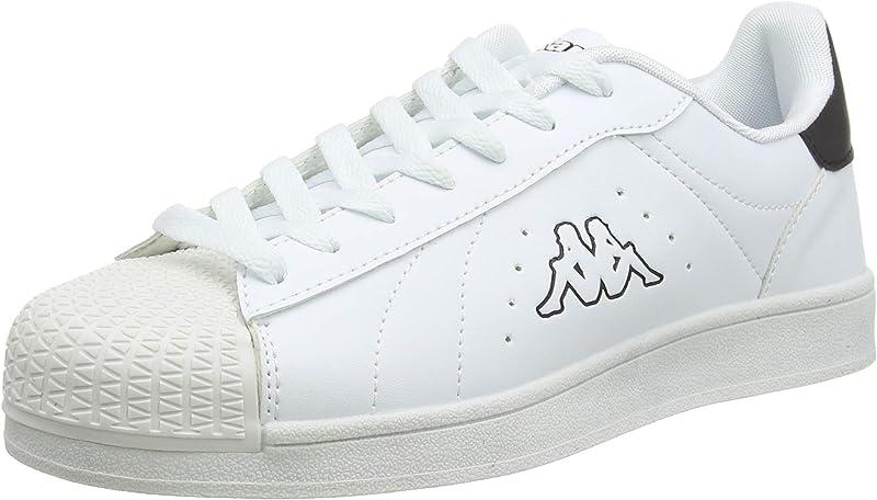Kappa Olymp Sneakers Unisex Damen Herren Weiß