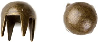 product image for 1003 Pearl Nailhead, Size 12, Solid Brass, Colonial Gold Finish, 1000 Pieces per Pack