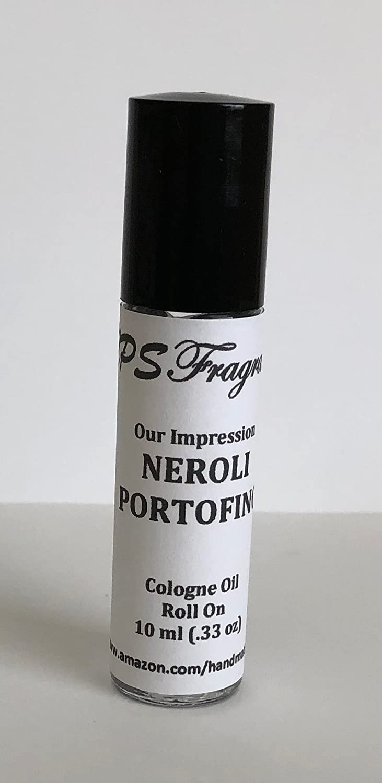 Tom Ford Neroli Portofino Impression by CPS Fragrances Men's Body Oil Roll On (10 ml)