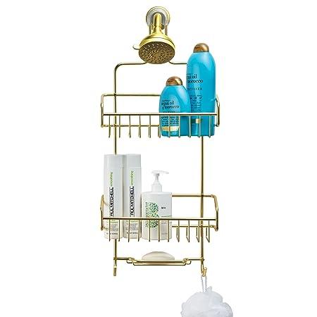 Amazon.com: Better Houseware Extra Large Shower Caddy   Gold: Home U0026 Kitchen