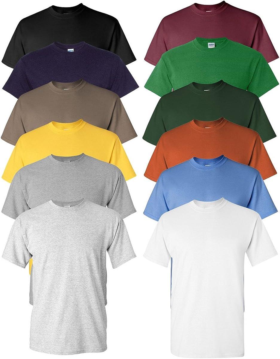 Gildan Men's Heavy Cotton T-Shirt (12 Pack)