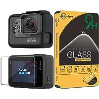 Jasinber [2-Pack] Mica de Vidrio Cristal Templado para GoPro Hero 5 / Hero 6 / Hero 7 Black