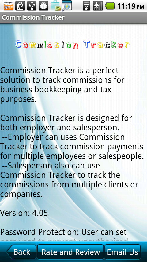 commission tracker