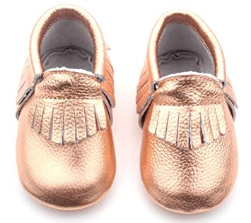 615fdef4365a Amazon.com: Posh Baby Shoes: Genuine Leather, Hand Made, Baby ...