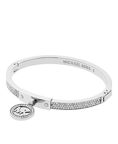 Michael Kors Women's Silver Bracelet MKJ7131040 zt8fGc76B