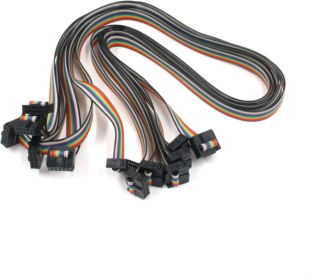 SWD Cable 150 Ribbon Cables // IDC Cables 10 pin 2x5 Socket-Socket 1.27mm IDC