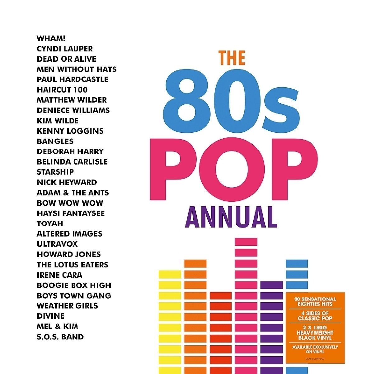 The 80s Pop Annual Vinyl Amazon Music