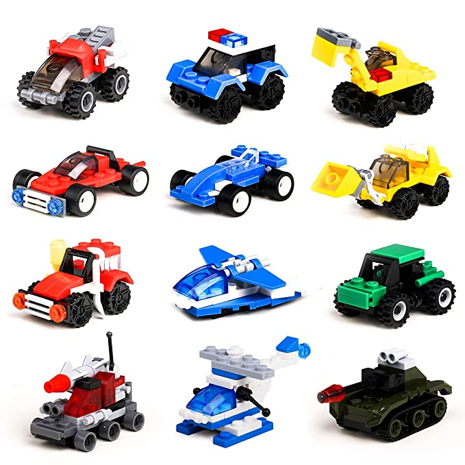 Loengt Building-Vehicles-Party-Lego-Compatible