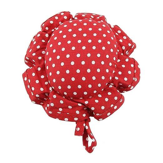 Cojín del Pin del hilo de coser, Cojín del Pin rojo Set de ...