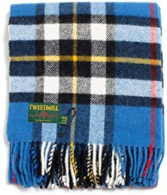 Tweedmill Tartan Scarf: Dress Thompson