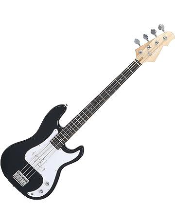 Rocktile Punsher - Bajo eléctrico, color negro