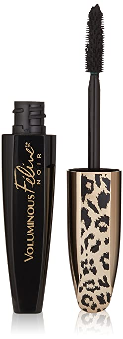 Amazon.com : L'Oreal Paris Cosmetics Voluminous Feline Noir ...
