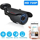 ABOWONE Network IP Camera Bullet Camera Security Servillance Camera CCTV Home Video Monitoring Outdoor Camera