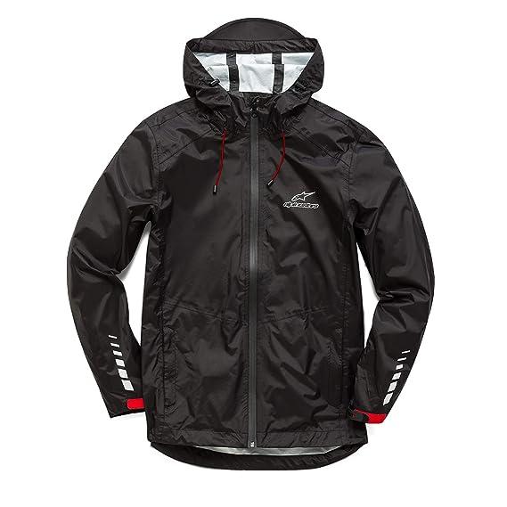 Alpinestars Mens Tech Rain Shell Taped Seams Lightweight Waterproof Jacket