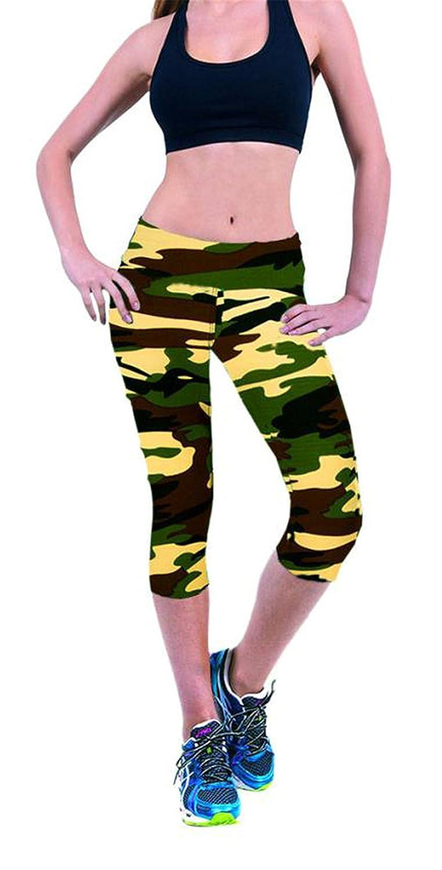Amazon.com: mokingtop Leggings Summer Women High Waist ...