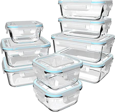 FRISCHHALTEDOSE Aufbewahrungsbox GLAS Frischhaltebox 1,5 L