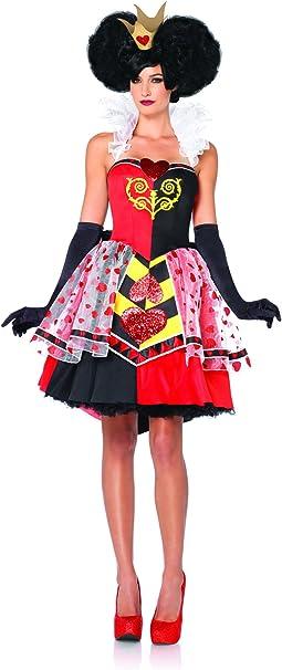 Disney Leg Avenue, 3 Unidades Disfraz de Reina de Corazones ...