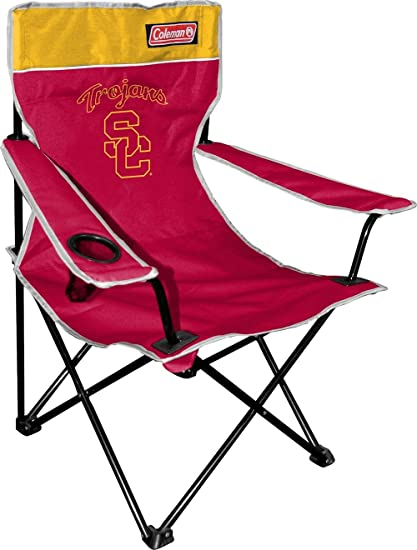 NCAA USC Trojans Coleman Folding Chair With Carrying Case  sc 1 st  Amazon.com & Amazon.com : NCAA USC Trojans Coleman Folding Chair With Carrying ...