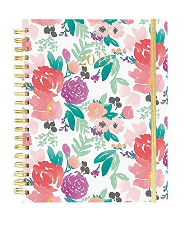 Amazon.com : 2019 Large Wiro Agenda, Floral Feels Theme ...