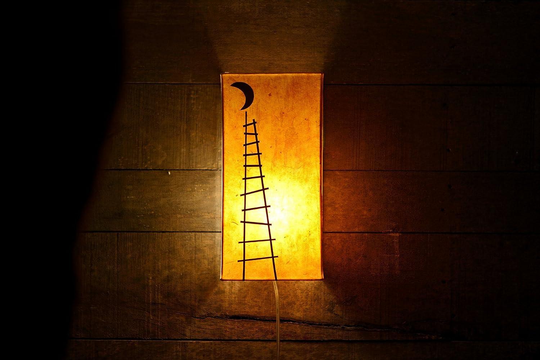 Lámpara de pared infantil/ Luz cálida/ Lámpara original/ Lámpara hecha a mano