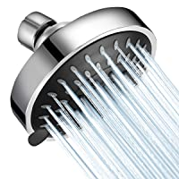 WarmSpray Shower Head High Pressure 4 inch Rainfall Shower Head