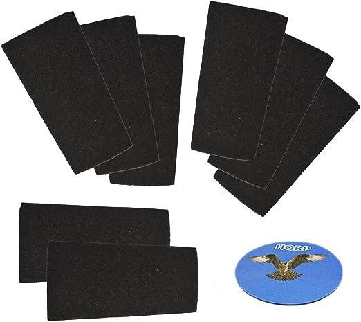 HQRP – Filtro de carbón (8 unidades) para Bionaire bap1400 ...