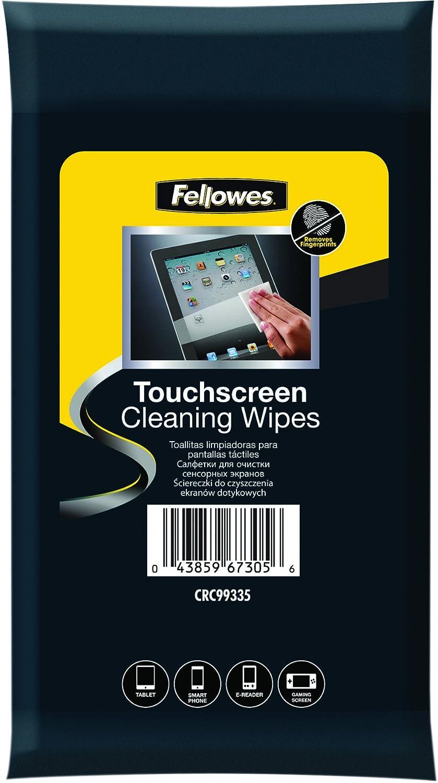 Fellowes 99335-20 toallitas húmedas de limpieza de pantallas táctiles smartphone, tablet, navegadores, E-book/libros electrónicos, MP4: Amazon.es: ...