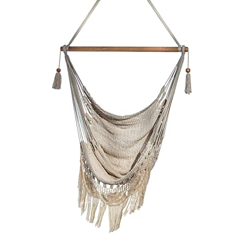 Handmade Hanging Rope Hammock Chair