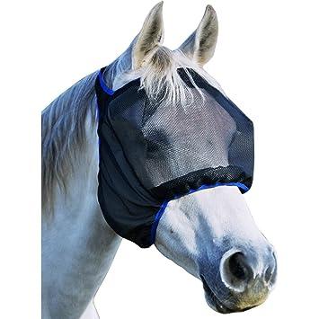 Equilibrium Field Relief Midi - Máscara antimoscas para caballo (tamaño XS), multicolor