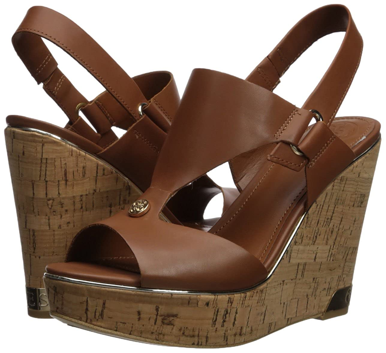 812817726c Amazon.com | GUESS Women's Hulda Wedge Sandal | Shoes