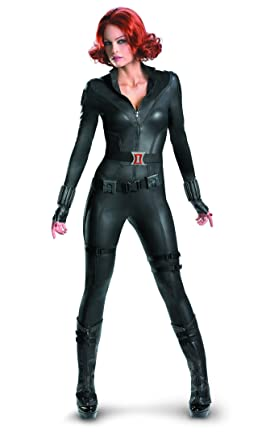 disguise womens marvel avengers black widow costume black x large18
