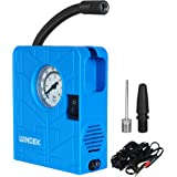 Automaze Windek 12V Portable Mini Air Pump Compressor Tyre Tire Inflator with LED Light for Car, Bicycle, Motorcycles, Balls
