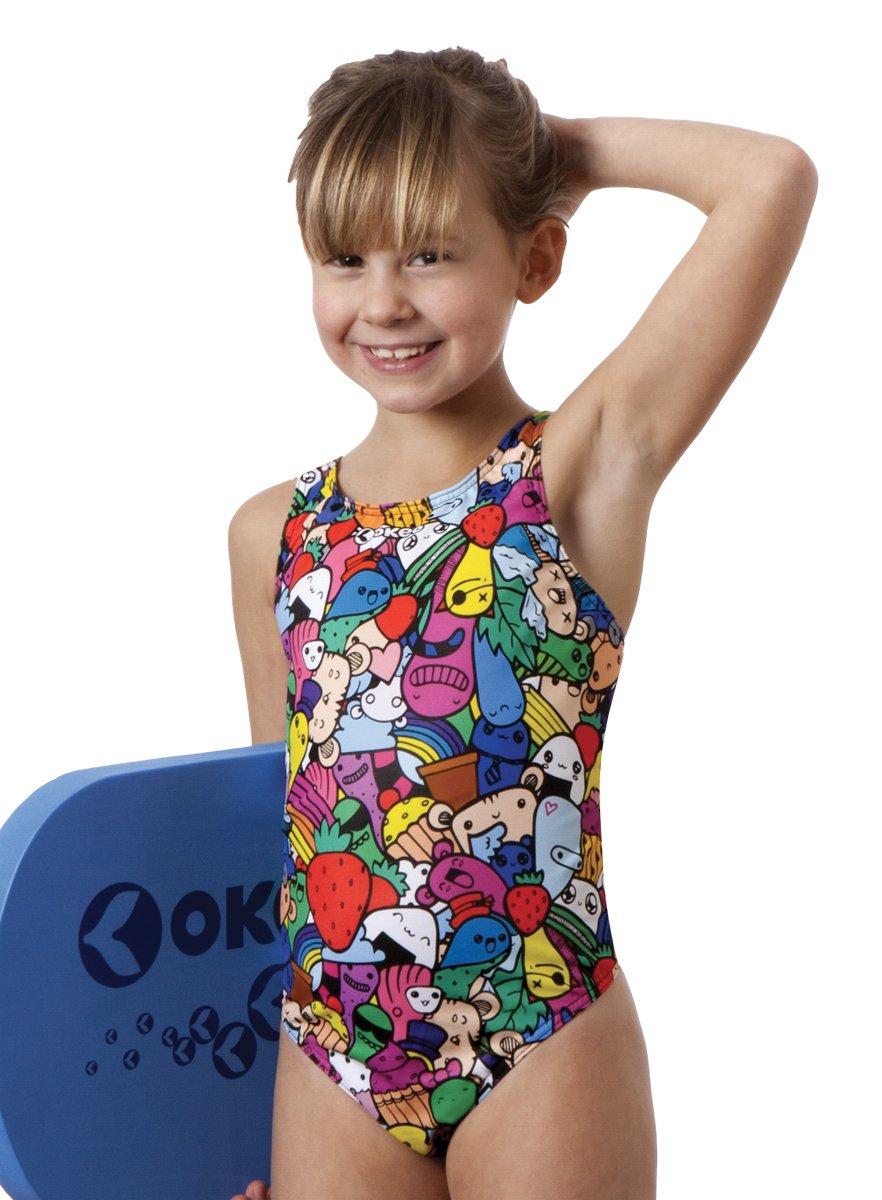 Okeo STEFANIA- Costume intero nuoto per bambina