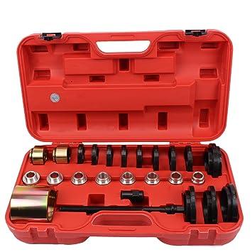 Rodamiento, montaje, desmontaje, herramientas, buje, extractor, herramientas de rodamiento para la tracción delantera: Amazon.es: Coche y moto