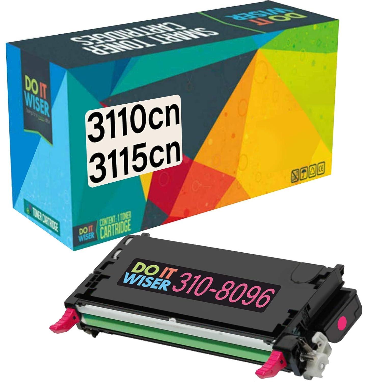 5 x Toner Chip For Dell C3110 C3115 C3115CN 310-8092 310-8094 310-8096 310-8098