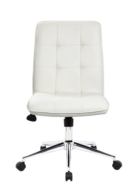 Amazon.com: Boss Office Products B330-WT Mellennial Modern Home ...