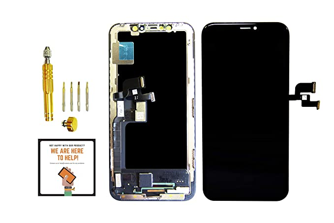 new arrival a297b c70bf Amazon.com: for iPhone X OLED Screen Replacement Touch Digitizer ...