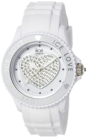 ICE,Watch , Montre femme , Quartz Analogique , Ice,Love , White ,
