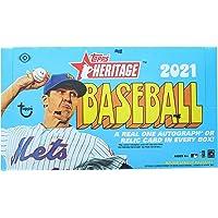 $119 » 2021 Topps Heritage MLB Baseball HOBBY box (24 pks/bx)
