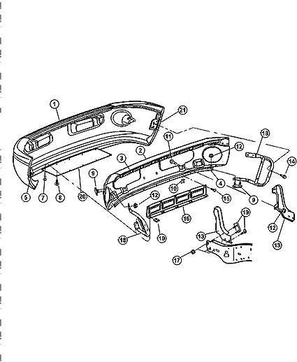Genuine Honda Parts 8-97084-244-1 Passenger Side Rear Bumper Extension Outer