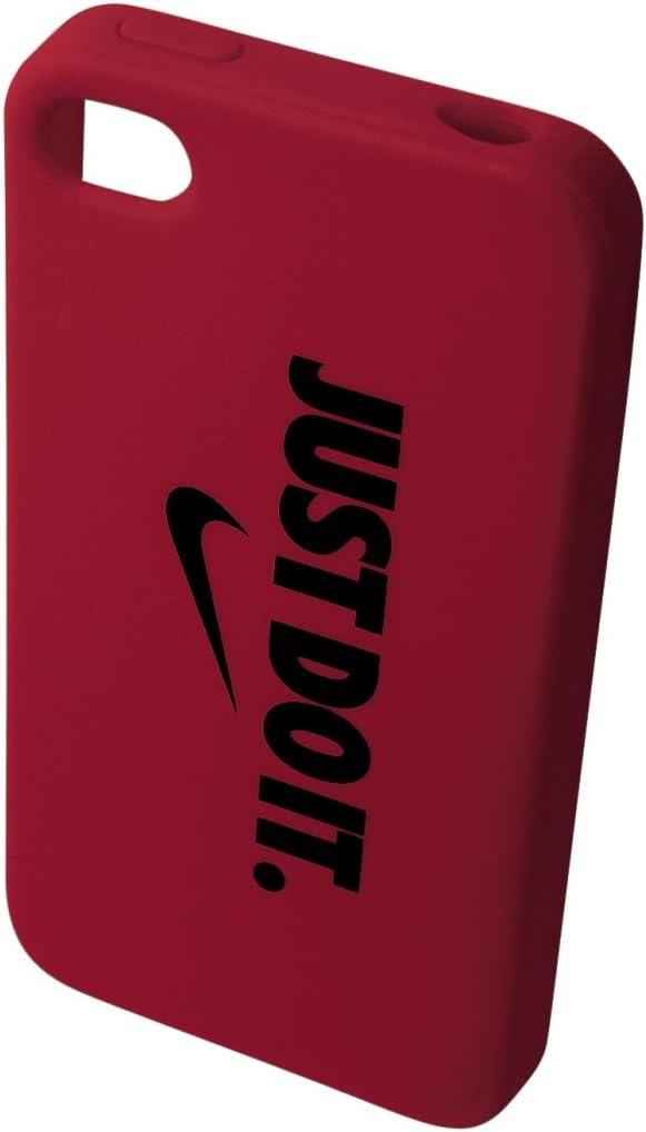 Nike Coque de Protection iPhone 4/4S Just Do it Rouge-Accessoires ...