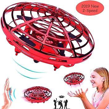 Taipow Drone Juguete para niños, RC UFO Helicóptero con Luces LED ...