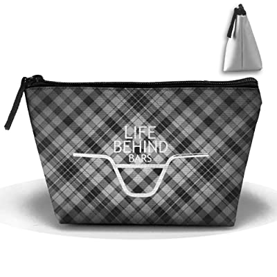 Trapezoid Portable Travel Toiletry Pouch Lattice Classic Patterns Cosmetic  Bags Multifunction Clutch Bag durable modeling eeaa8199f3