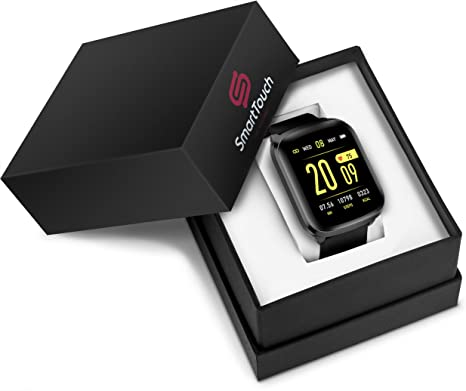 Amazon.com: Smart Touch KW03 Smart Watch (Android, iOS ...