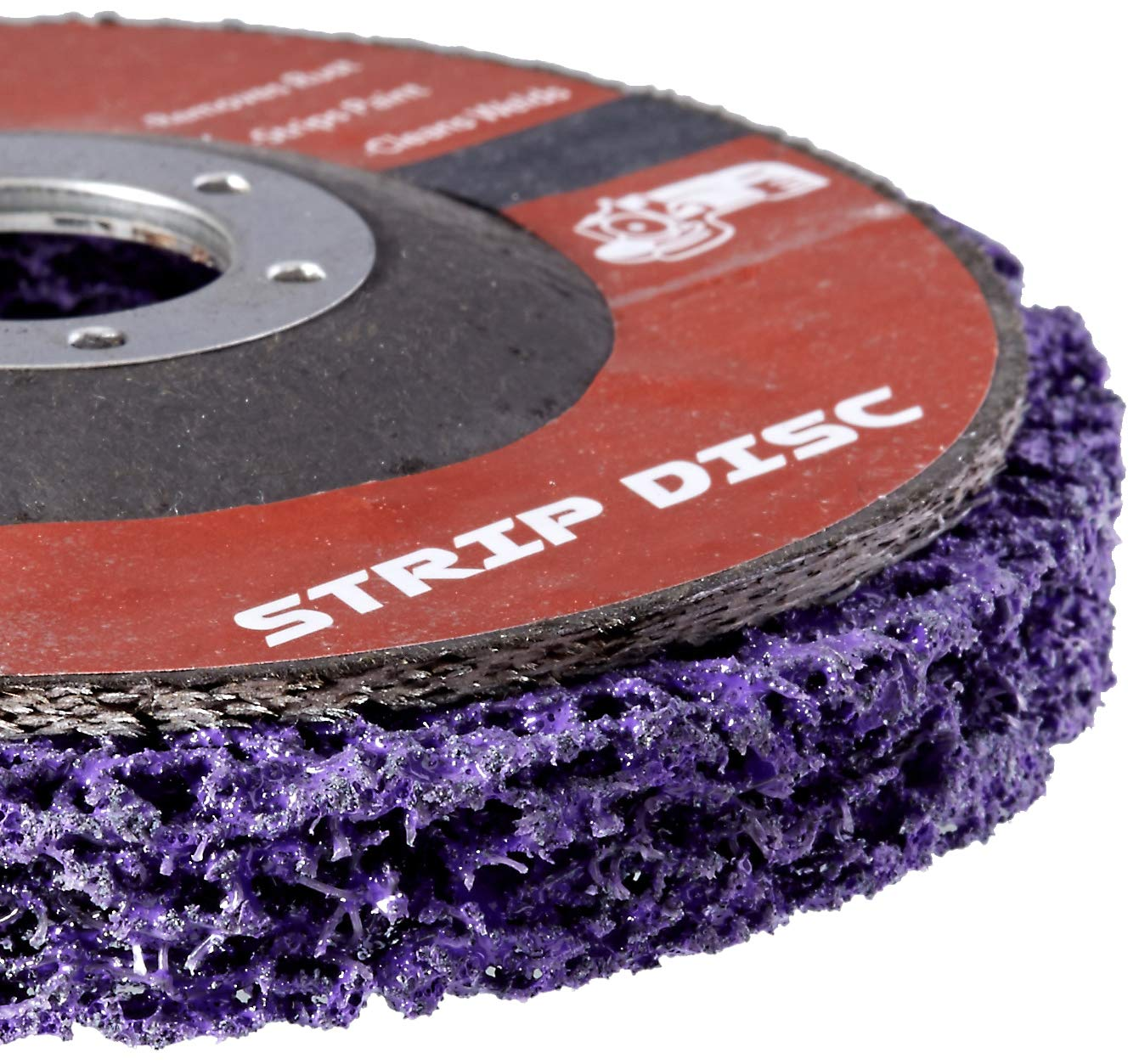 5 Pack 115mm 4 1//2 x 7//8 KENOSHA IRON Extended Life Easy Strip and Clean Disc for Angle Grinders
