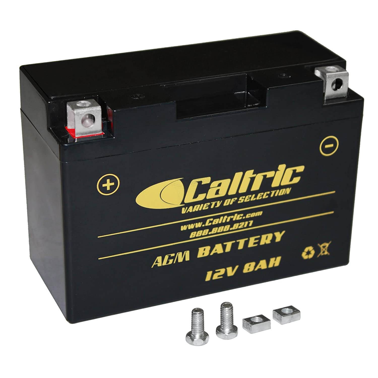 CALTRIC AGM AGM BATTERY compatible with YAMAHA RAPTOR 700 YFM700R YFM-700R 2006-2016