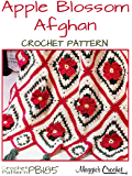 Crochet Pattern Apple Blossom Afghan PB185